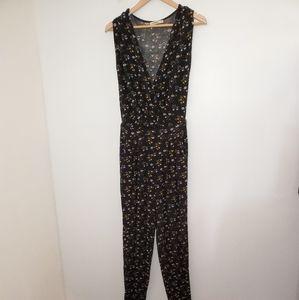 Oasis Floral Sleeveless Jumpsuit S
